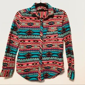 BDG Urban Outfitters Aztec flannel